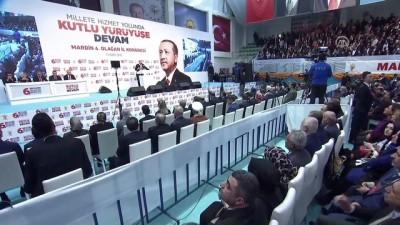 Cumhurbaşkanı Erdoğan: ''Bunların inlerine girmeyi sürdüreceğiz'' - MARDİN