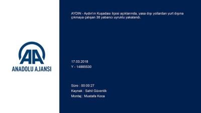 Ege Denizi'nde yasa dışı geçişler - AYDIN