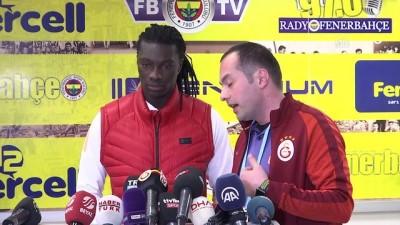 Fenerbahçe-Galatasaray maçının ardından - Bafetimbi Gomis - İSTANBUL