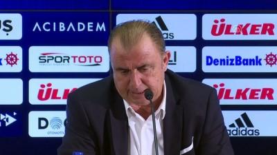 Fenerbahçe-Galatasaray maçının ardından - Fatih Terim (2) - İSTANBUL