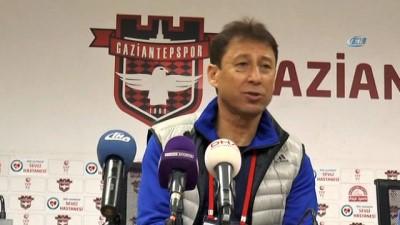 Gaziantepspor - TY Elazığspor maçın ardından