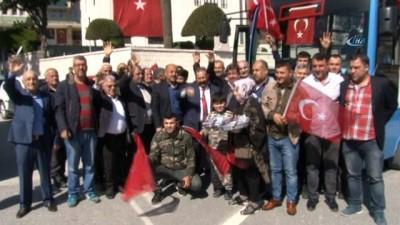 Hataylı otobüs şoförlerinden Mehmetçiğe destek İzle