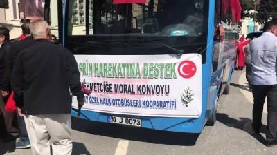 Kıbrıs gazileri, Zeytin Dalı Harekatı'na destek verdi - HATAY