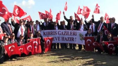 Kıbrıs gazilerinden Zeytin Dalı Harekatı'na destek (2) - HATAY