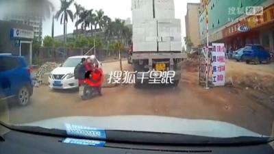 - Motosikletli dikkati sayesinde ölümden kurtuldu
