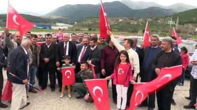 Otobüs şoförlerinden Zeytin Dalı Harekatı'na destek - HATAY