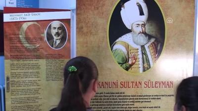 Sınıf kapıları tarihi anlatıyor - ERZURUM