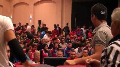 Türkiye Üniversiteler Arası Bilek Güreşi Şampiyonası - ANTALYA