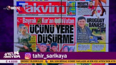 beyaz tv - Uyan Türkiyem 17 Mart 2018