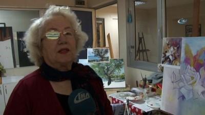 Yıllar önce kurdukları resim hayaline emeklilikten sonra kavuştular