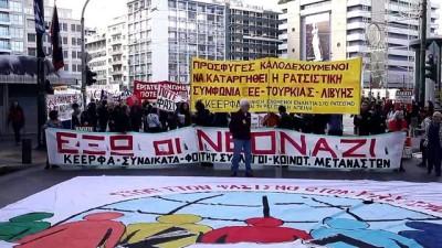 Yunanistan'da ırkçılıkla mücadele günü - ATİNA