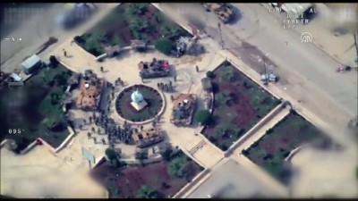 Afrin Operasyonu - Afrin'de Mehmetçik hilal oluşturdu - Drone