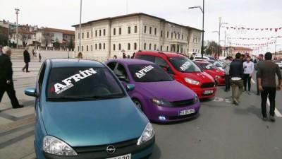 Afrin için destek konvoyu - SİVAS