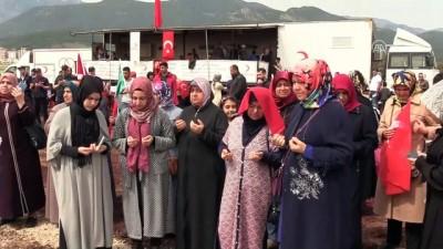 sehadet - Afrin ilçe merkezinin kontrol altına alınması - Vatandaşlar sevinç gösterisinde bulundu -  HATAY