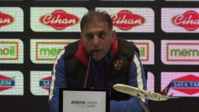Atiker Konyaspor-Kayserispor maçının ardından - KONYA