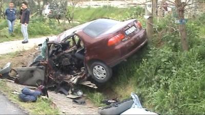 Feci kazada bir aile yok oldu: 3 ölü