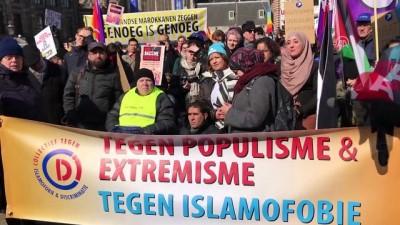 Hollanda'da ırkçılığa ve ayrımcılığa karşı gösteri - AMSTERDAM