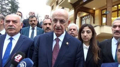 """Meclis Balkanı İsmail Kahraman, """"Bu bir terörizmi önleme harekatıydı"""""""