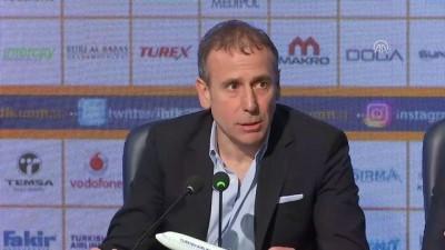Medipol Başakşehir-Beşiktaş maçının ardından - Abdullah Avcı (1) - İSTANBUL