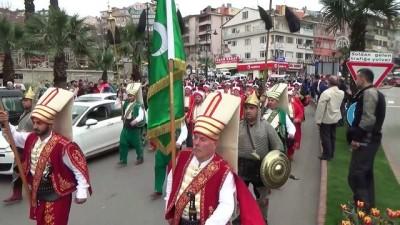 Mehmetçiğe konvoylu ve mehterli destek - ZONGULDAK