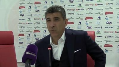 Samsunspor-Boluspor maçının ardından - SAMSUN