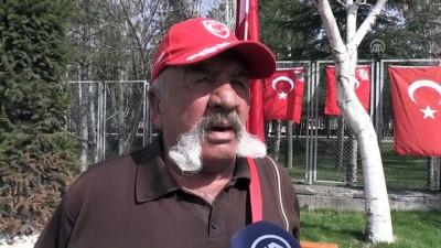 'Şehit Komandolar Durağı'nda saygı nöbeti - KAYSERİ