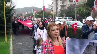 Şehitler anısına yürüyüş düzenlendi - ZONGULDAK