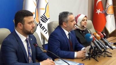 """AK Parti İl Başkanı Salman: """"Yaşlılara servetimiz olarak bakıyoruz"""""""
