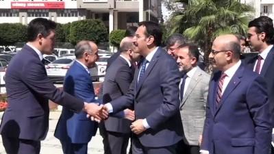 Gümrük ve Ticaret Bakanı Tüfenkci, Adana'da