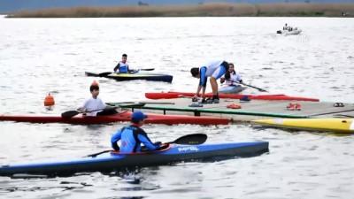 Köyceğiz Gölü su sporlarının merkezi oldu - MUĞLA