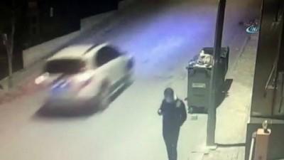 Özel güvenlikçinin bayrak sevgisi kameraya yansıdı