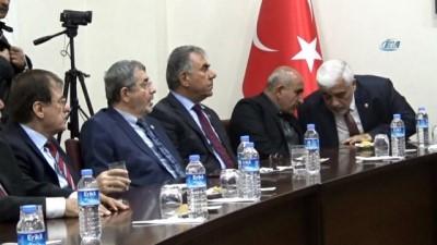 Türk Parlamenterler Birliği yönetim kurulu Kilis'te