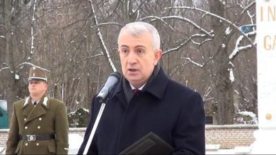 - Türk şehitleri Budapeşte'de askeri törenle anıldı
