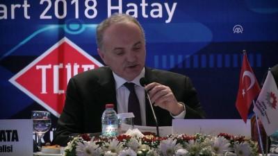 Bakan Özlü: ''Enerji Bakanlığımız ile birlikte Rus Santral yetkilileriyle prensipte mutabık kalmış bulunuyoruz'' HATAY
