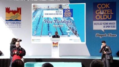Beştelsiz Yüzme Havuzu ve Spor Tesisi açıldı - İSTANBUL