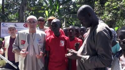 Cansuyu Derneği Sierra Leone'de 20 su kuyusu açtı - FREETOWN
