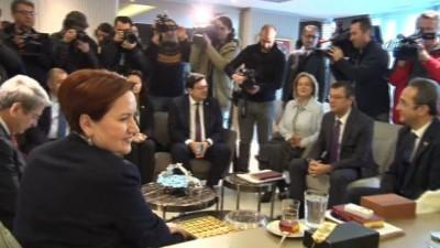 CHP'den İYİ Parti'ye seçim güvenliği ziyareti