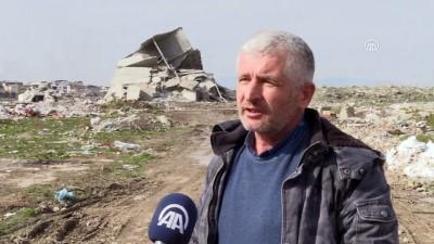 Dinamitle yıkılamayan bina kendiliğinden çöktü - BURSA