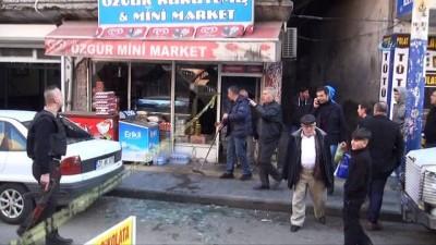 Diyarbakır'da patlama...Tüp bomba gibi patladı