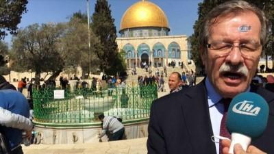 İBB, Filistin'e destek için Kudüs'te