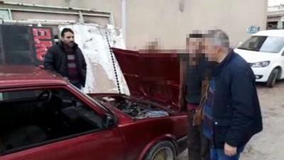 Kahramanmaraş'ta oto hırsızlık çetesine darbe