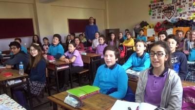 Öğrencilerden Afrin kahramanlarına özel klip