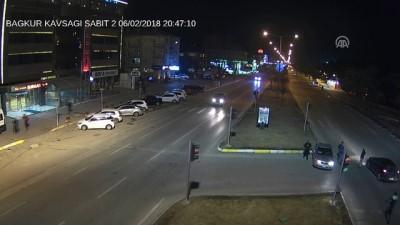 Trafik kazaları MOBESE kameralarınca görüntülendi - ERZİNCAN
