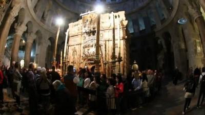 - Yeniden Açılan Kıyamet Kilisesi Ziyaretçilerini Ağırlıyor