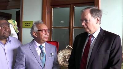 AB Türkiye Delegasyonu Başkanı Büyükelçi Berger Mersin'de Video