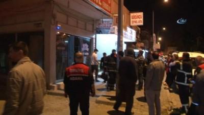 Adana'da eczane kundaklandı