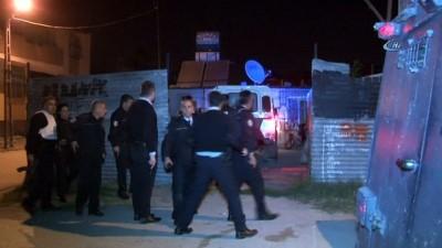 Alkollü şahıs pompalı tüfekle polislere ateş açarak dehşet saçtı