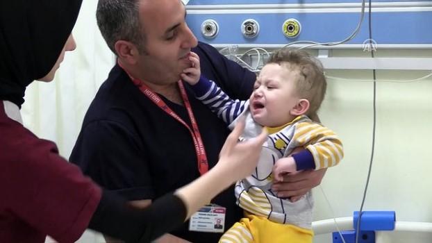 teror saldirisi - Bombadan yaralanan Suriyeli bebek Türkiye'de yaşama tutundu - GAZİANTEP
