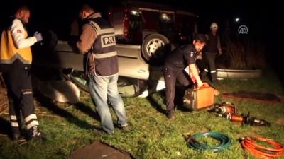 Çubuk'ta trafik kazası: 3 ölü, 2 yaralı - ANKARA Video