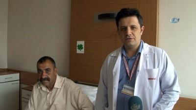 Irak'tan gelen hasta kapalı ameliyatla sağlığına kavuştu